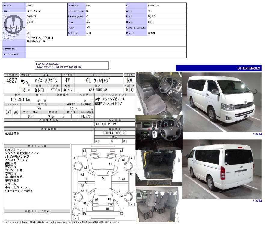 Toyota Hiace Wagon 