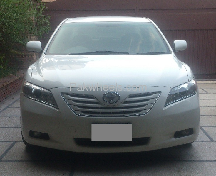 toyota camry g limited edition 2008 for sale in lahore. Black Bedroom Furniture Sets. Home Design Ideas