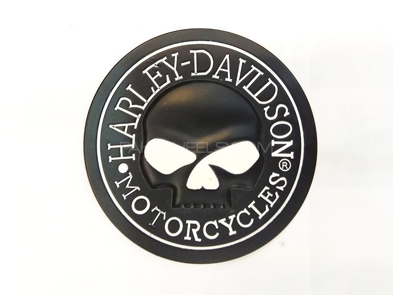 Harlay Davidson Metal Logo  Image-1