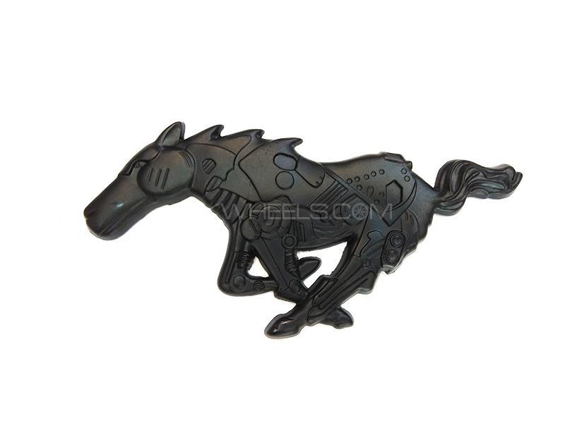 Horse Metal Logo  Image-1