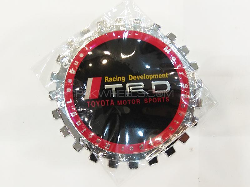 TRD Metal Logo - Black Image-1