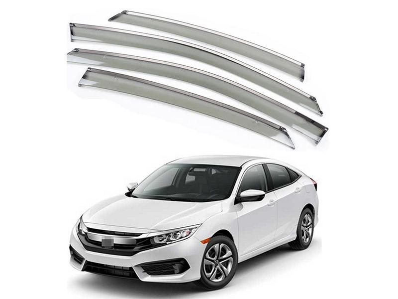 Buy Sun Visor With Chrome For Honda Civic 2016-2019 in Pakistan ... 8c8b34af485