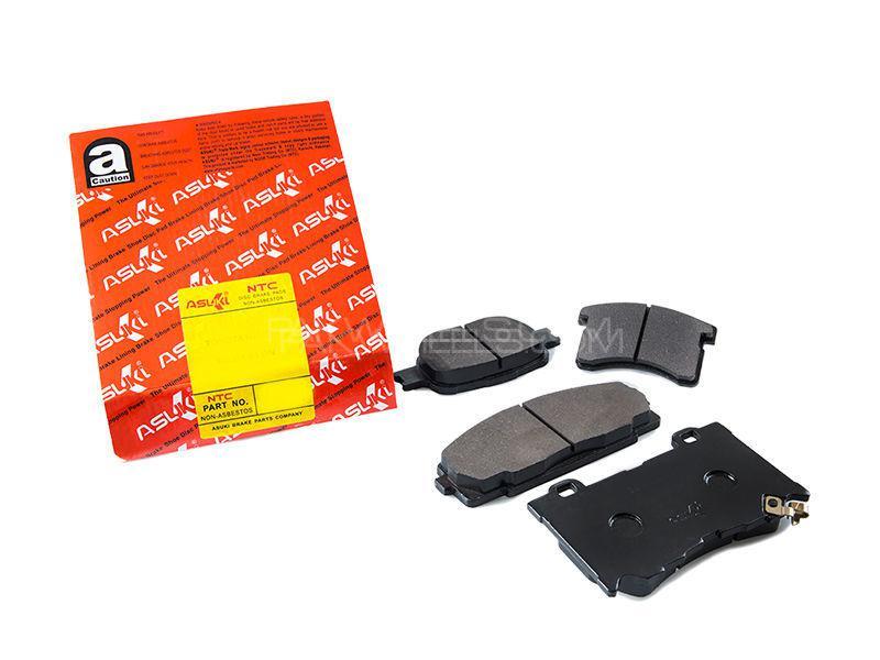 Asuki Rear Brake Pads For Honda Civic 2007-2012 Image-1
