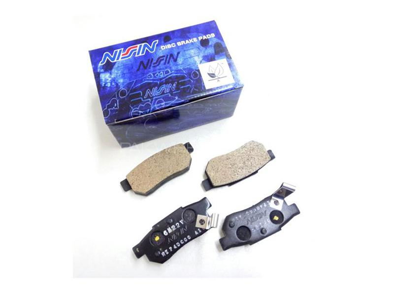 Nissin Japan Rear Brake Pads For Honda Civic 2004-2006  Image-1