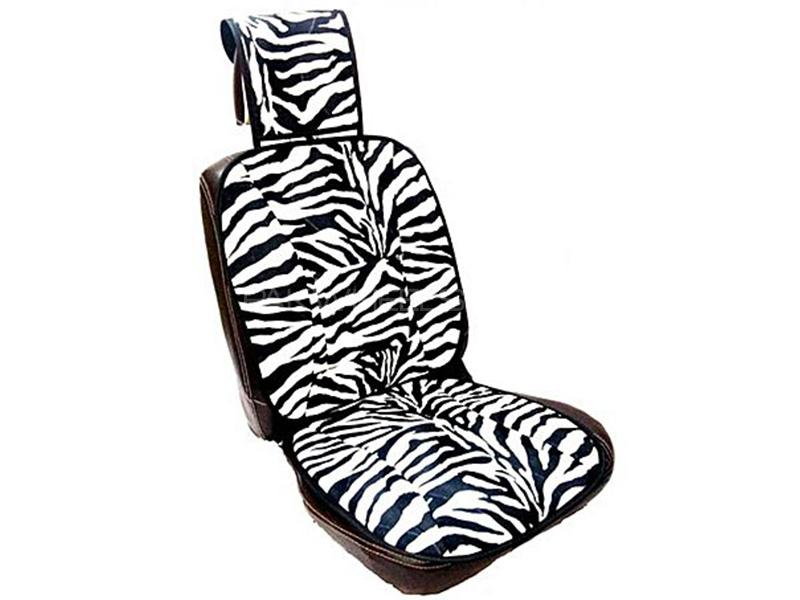 Universal Velvet Seat Cushions - BW-01 Image-1