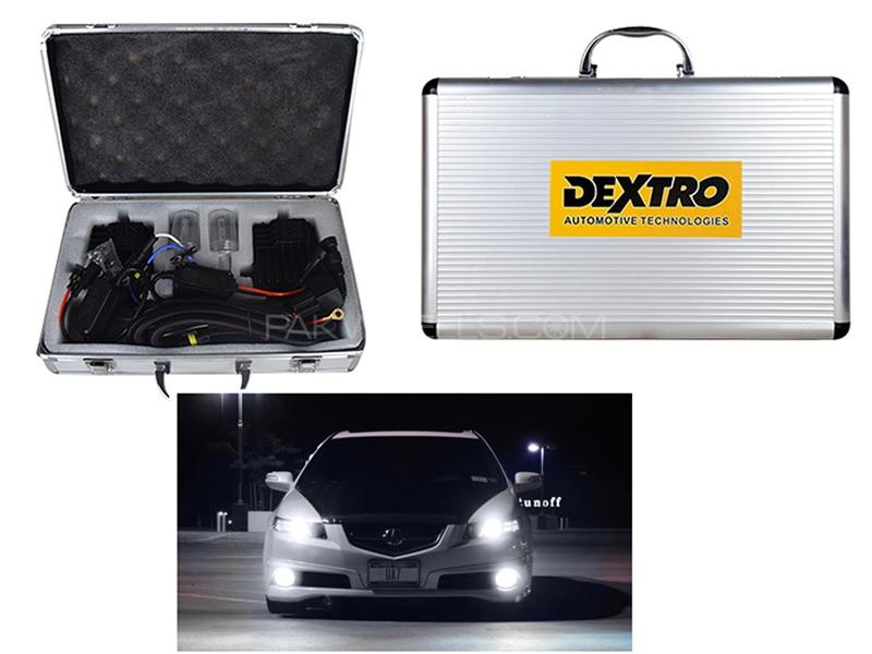 Brightest Dextro HID 200W 6000+ Lumens - H11 in Karachi