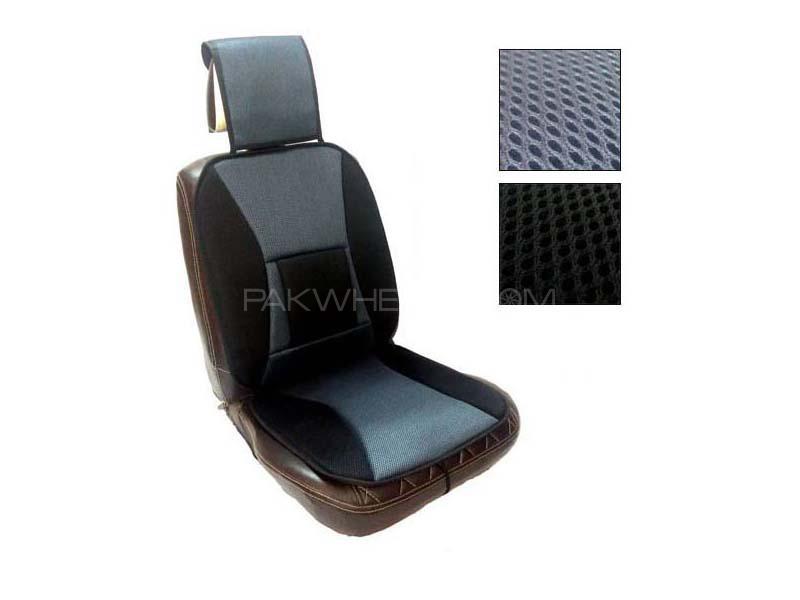 Universal Net Car Seat Cover Black - Grey  Image-1