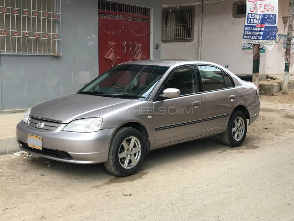 Honda Civic EXi Prosmatec 2002