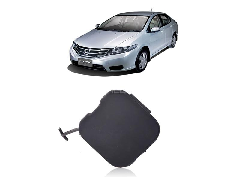 Front Bumper Tow Cover For Honda City 2012-2018 Image-1