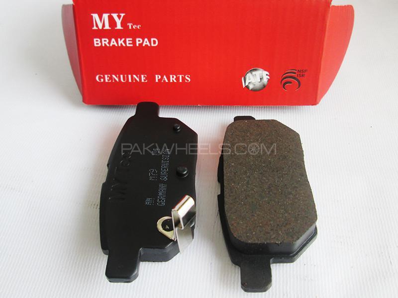 MyTec Disk Pad Honda Civic 2002-2004 Image-1
