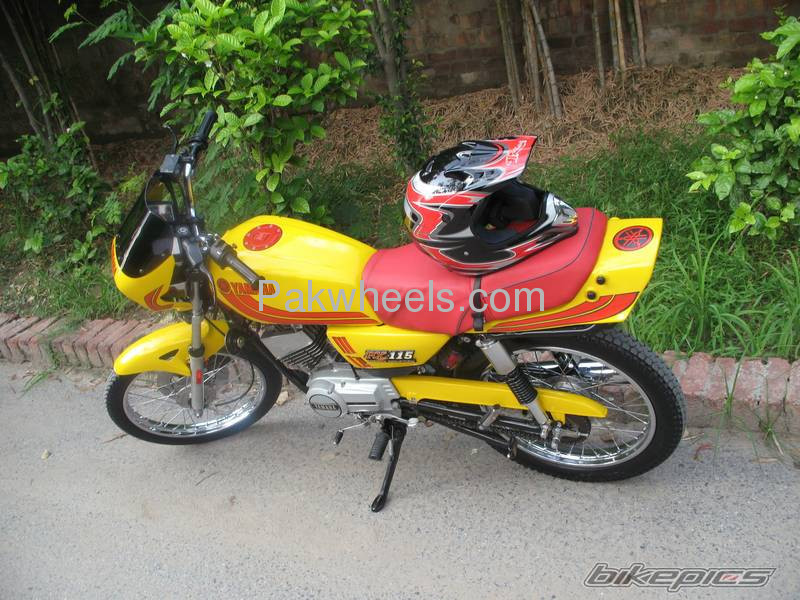 Used yamaha rx 115 1984 bike for sale in lahore 103928 for Yamaha rx115 motorcycle for sale