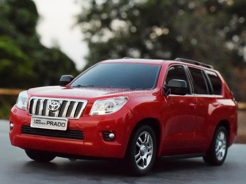 Toyota Land Cruiser Prado Remote Control Die Cast - Red Image-1