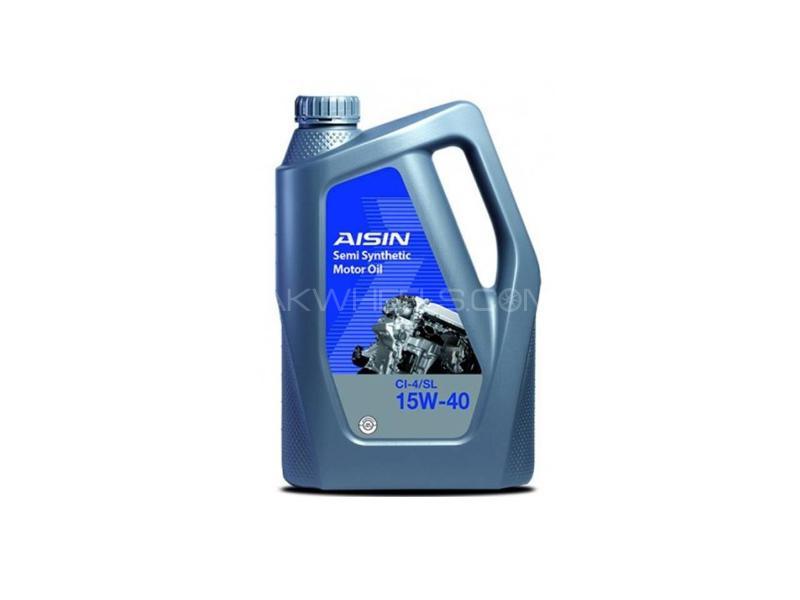 Aisin CI-4 15w40 Semi Synthetic Engine Oil 1L Image-1