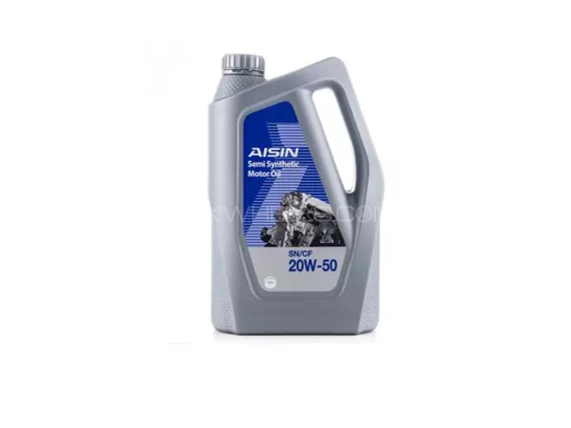 Aisin SN 20w50 Semi Synthetic Engine Oil 4L Image-1