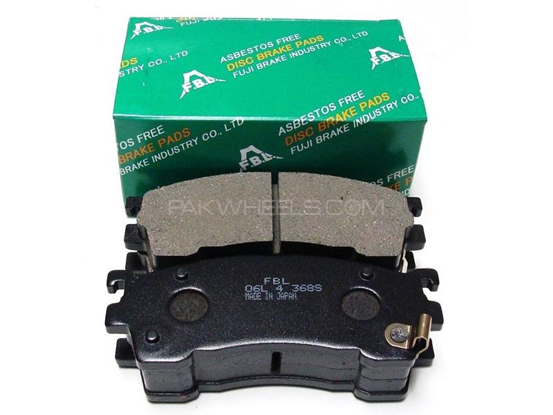 FBL Japan Front Brake Pads For Nissan N16 2005 Image-1