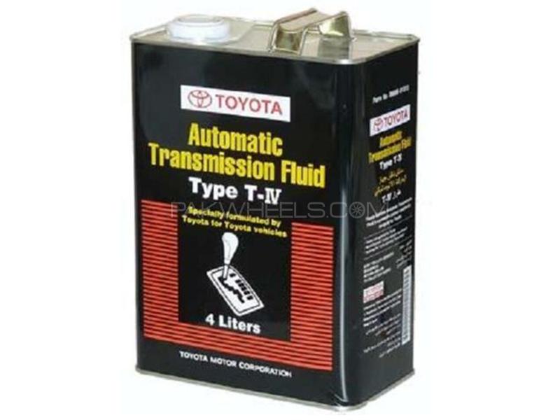Toyota ATF T-IV - 4 Litre  Image-1
