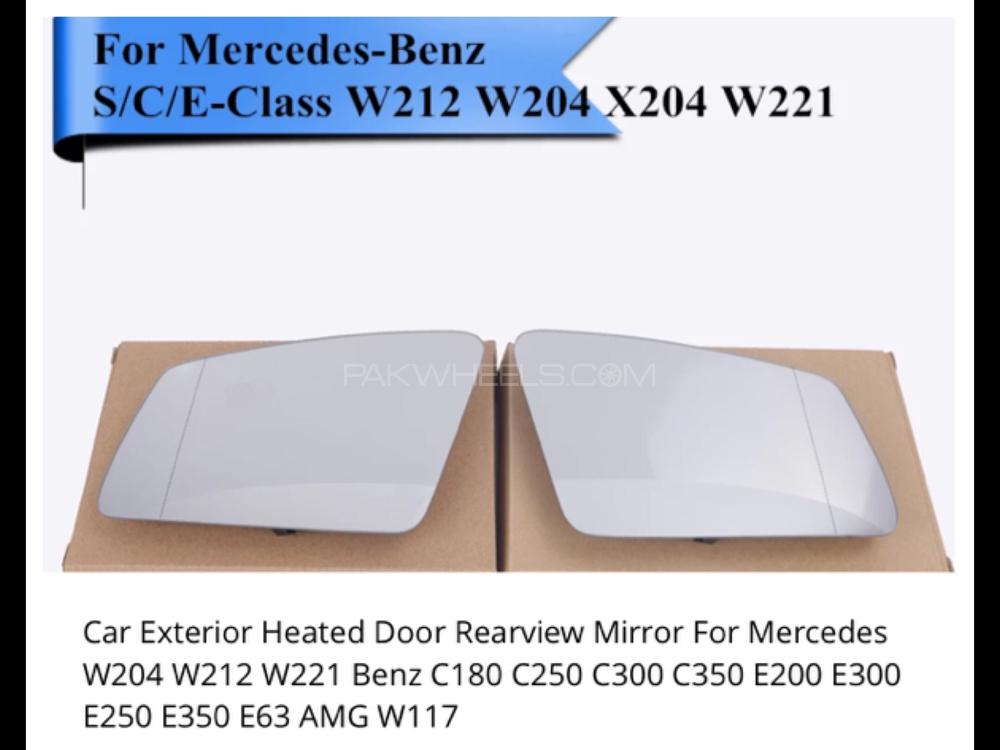 Mercedes E Class W212 2009-/> Wing Mirror Glass Heated O//S Drivers Side Right