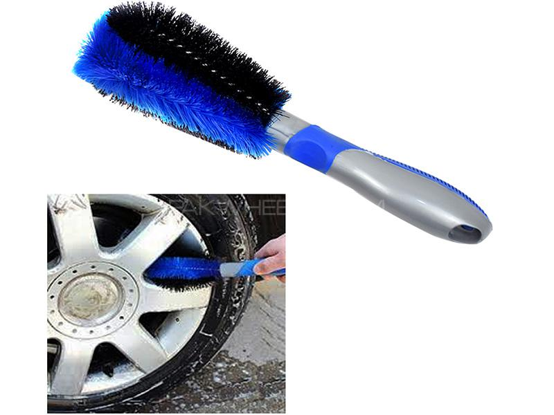 Car Rim Washing Brush Image-1