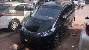 Honda freed  Model 2012  Reg 2017  Original rim tyres  Dual power door  Cruise control  Leather seats  7 seater Rear entertainment  Top of the line  Available