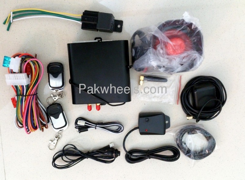 GPS GSM Car Tracker and Security System Image-1