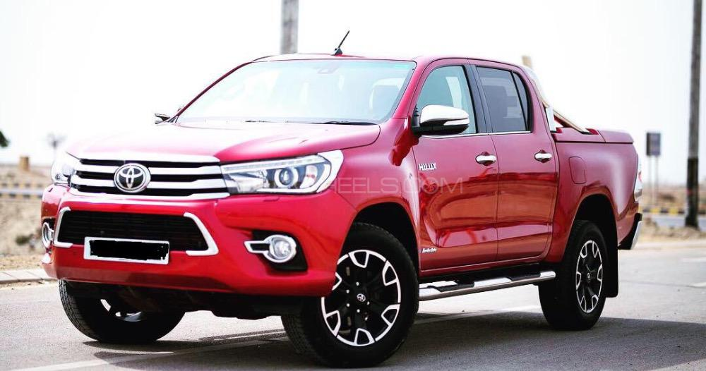 Toyota Hilux Invincible X 2016 Image-1