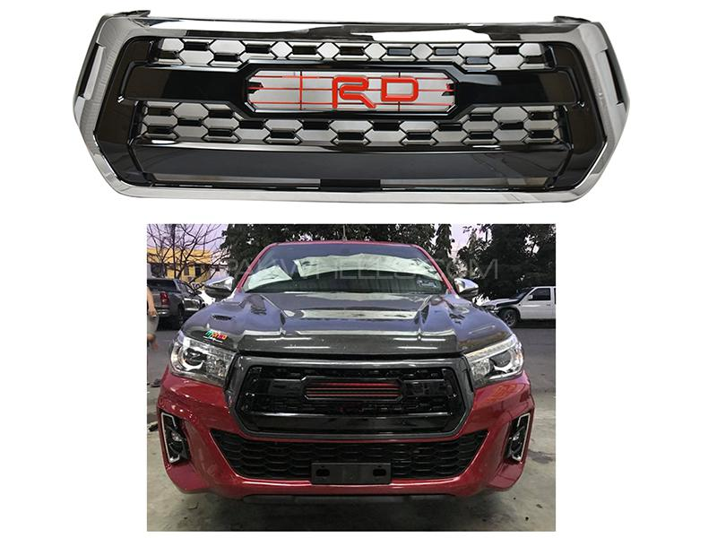 Toyota Revo Rocco Style TRD Front Grill Image-1