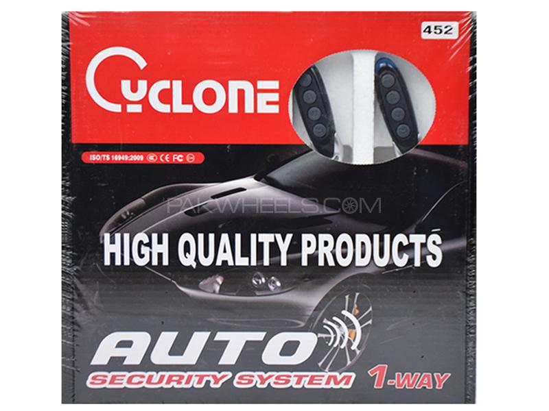 Cyclone Auto Security System - 452 Image-1