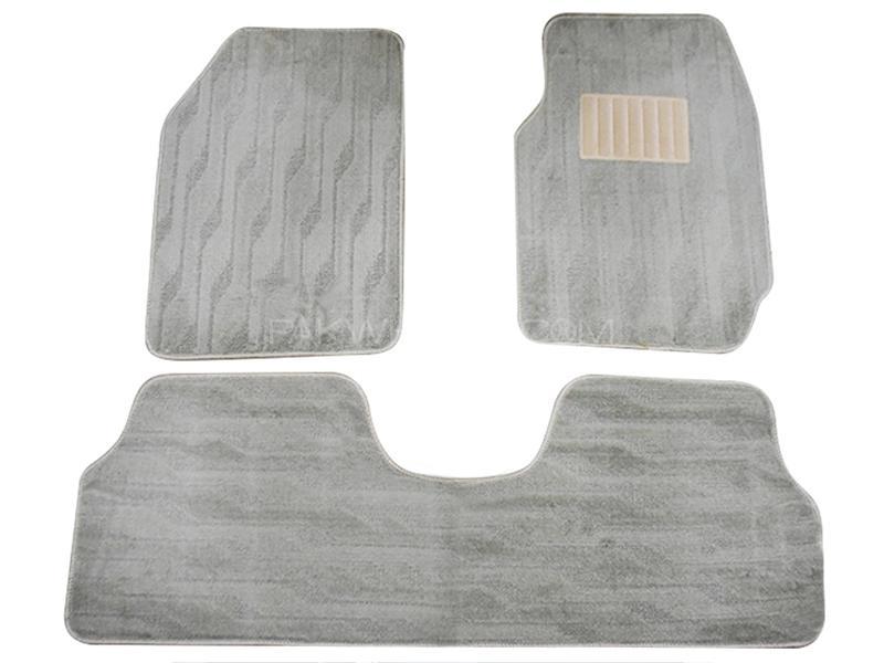 Carpet Floor Mats For Toyota Corolla 2009-2014 - Grey Image-1