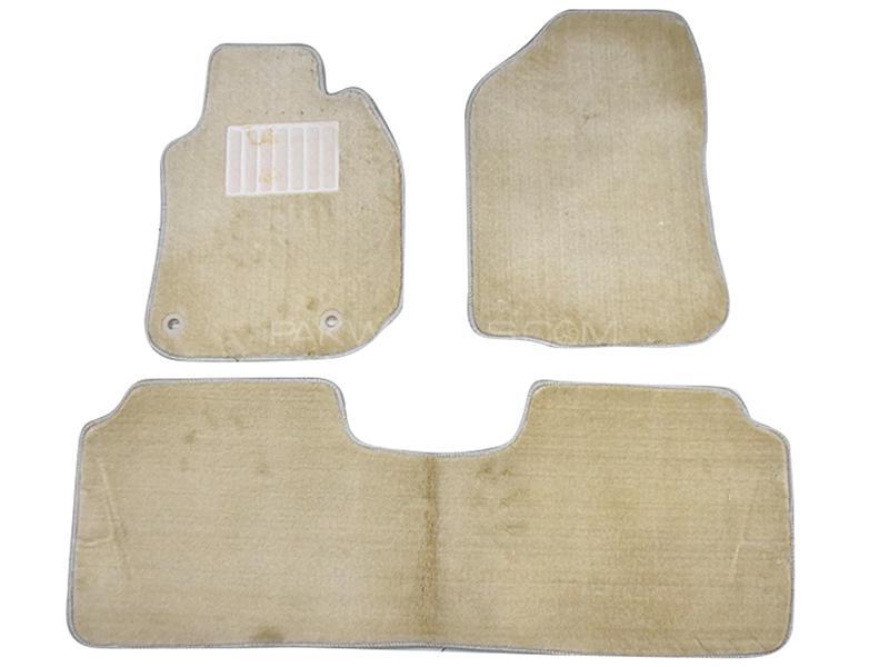 Carpet Floor Mats For Toyota Corolla 2014-2019 - Beige Image-1