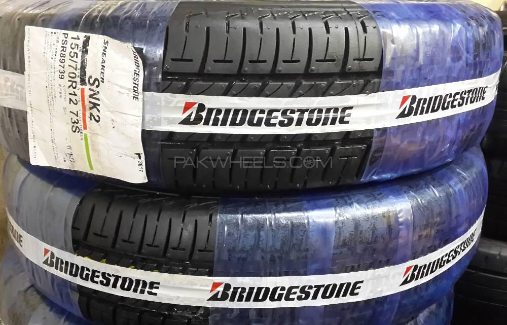 Top Brand New BRIDGESTONE Tyre 155/70 R12 Mehran,Alto,Coure,