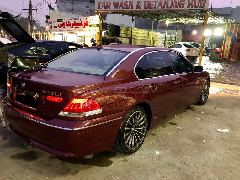 Bmw 760li 2002 745li On 24s Wwwgenialfotocom