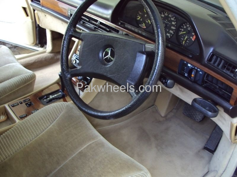 Mercedes Benz S Class 300SEL 1986 Image-3