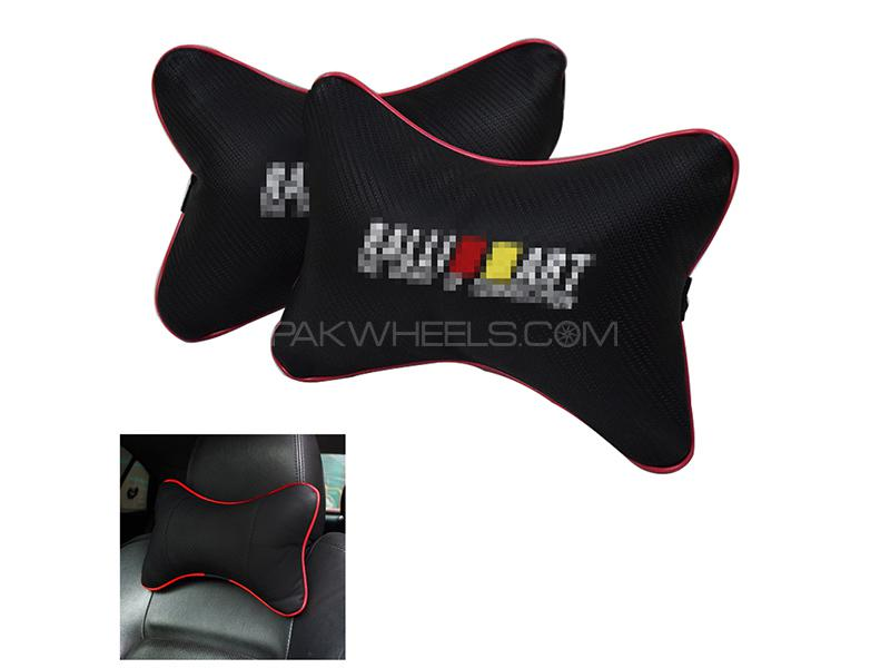 Car Neck Cushion Black - Type 2 Image-1