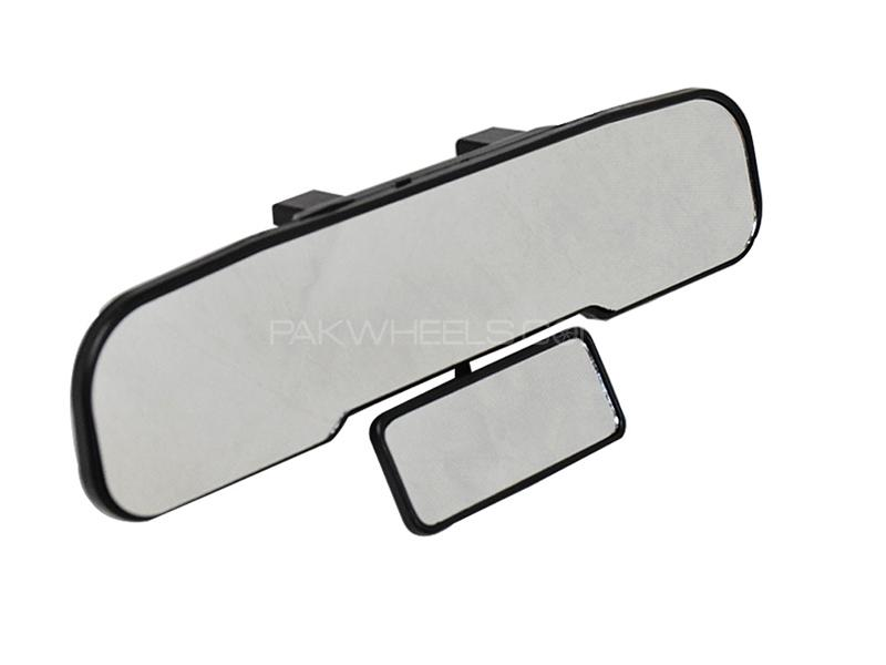 Universal Convex Panoramic Double Rear View Mirror Image-1