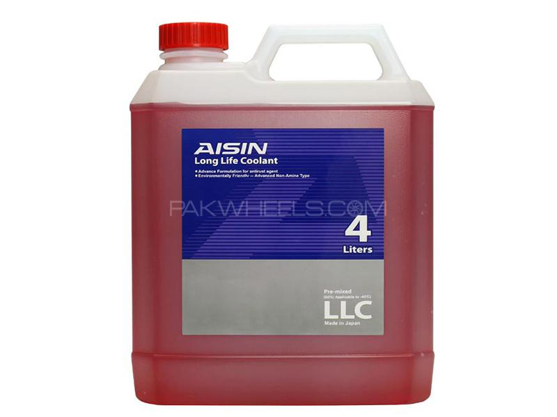 AISIN Anti-Freeze Coolant Red - 4 Litre Image-1