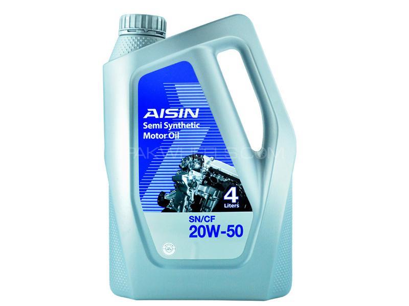 Aisin Semi Synthetic 20W-50 - 4 Litre Image-1
