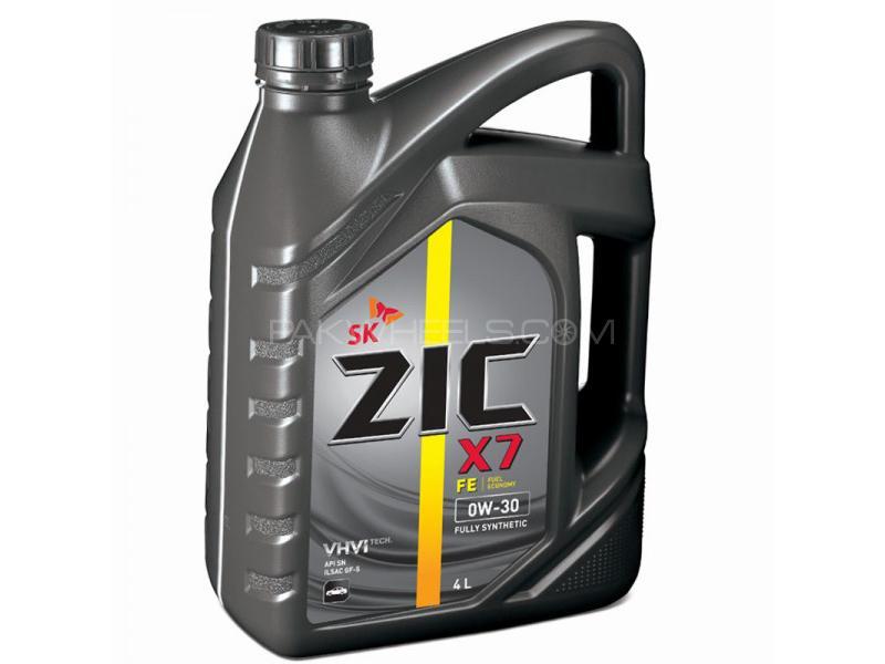 ZIC X7 FE 0W-20 SN ILSAC GF5 - 4 Litre Image-1