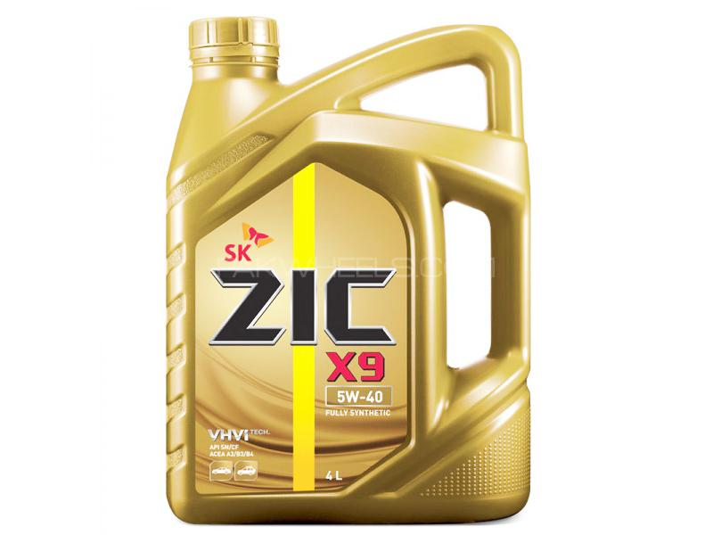 ZIC X9 5W-40 SN/CF - 4 Litre Image-1