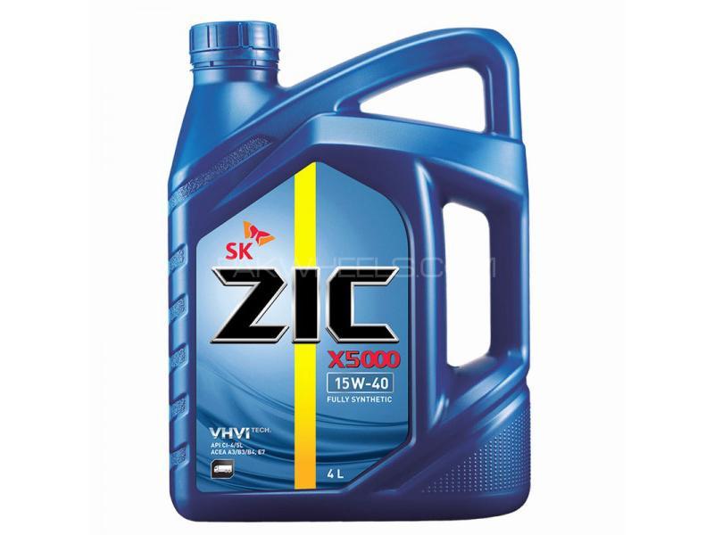 ZIC X5000 15W-40 For Diesel - 4 Litre Image-1