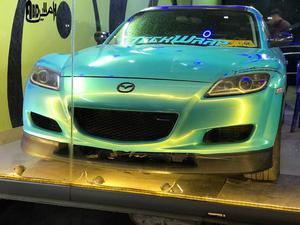 mazda rx8 2008 interior