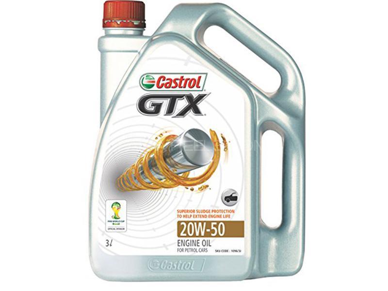 Castrol GTX 20W-50 - 3 Litre Image-1