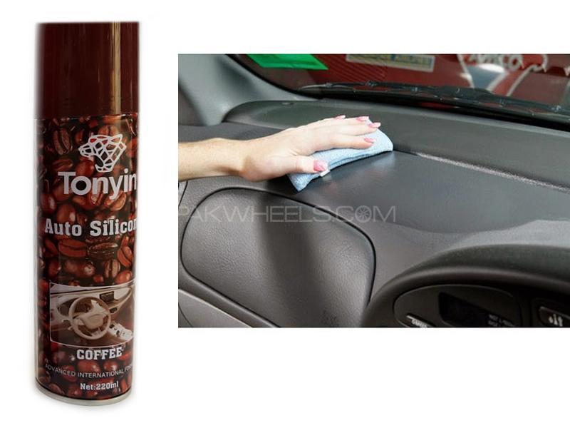Tonyin Auto Silicon Dashboard Shine Spray Coffee Image-1