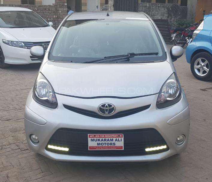 Toyota Aygo Standard 2014 Image-1