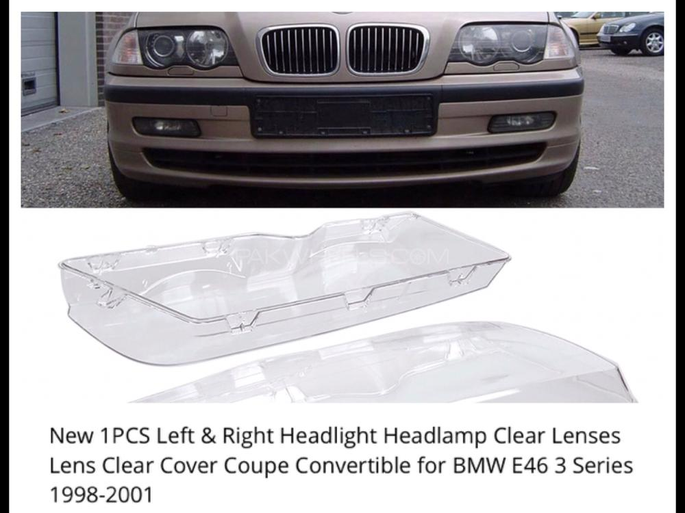 Bmw E46 3 Series Headlights Shell Brand New Excellent Quality 1999 Model Onwards