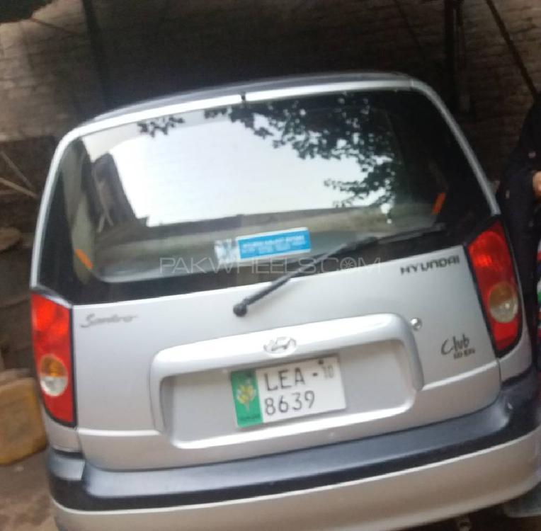 Hyundai Santro Club GV 2010 Image-1