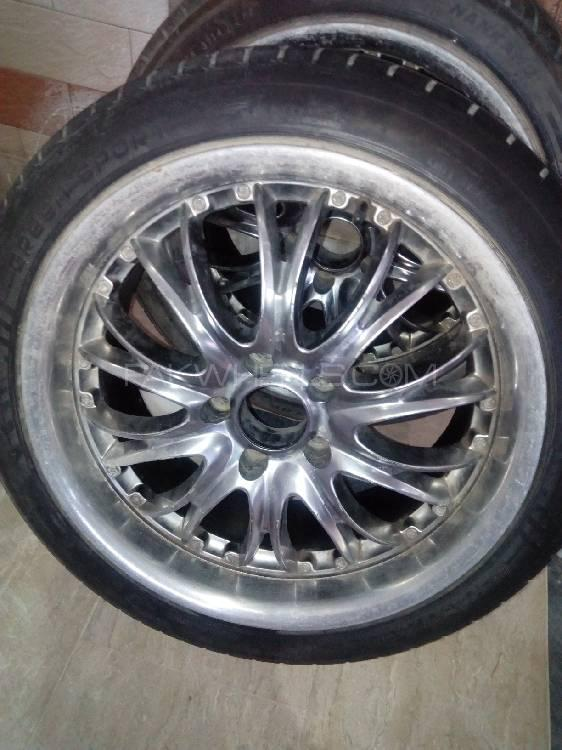 18 Inch Tires >> 18 Inch Uk Imported Rims Low Profile Tyres