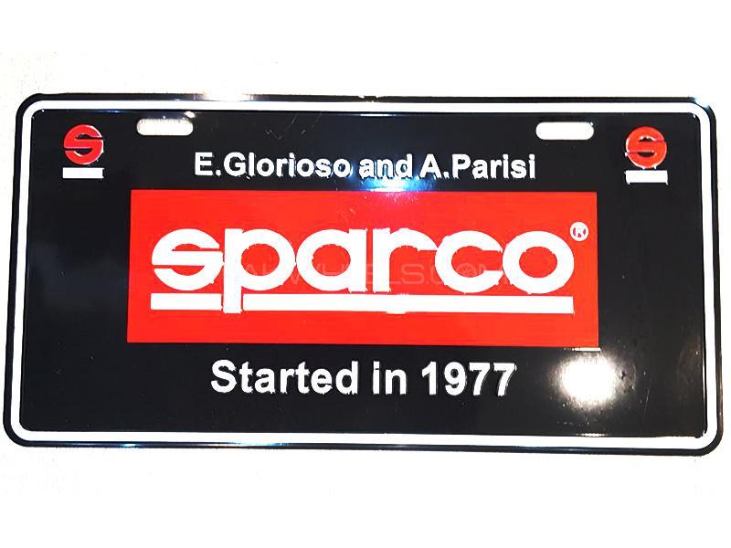 Universal Metal License Plate - Sparo Image-1