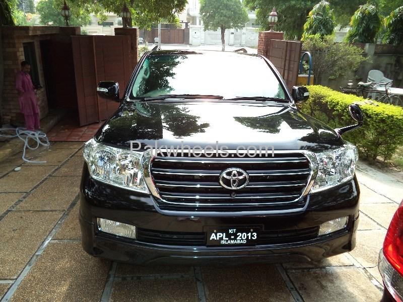 Toyota Land Cruiser AX G Selection 2008 Image-4