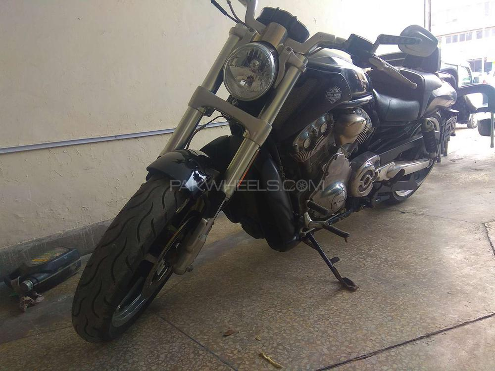 Used Harley Davidson Wheels >> Used Harley Davidson V Rod Muscle 2009 Bike For Sale In Lahore 239391 Pakwheels