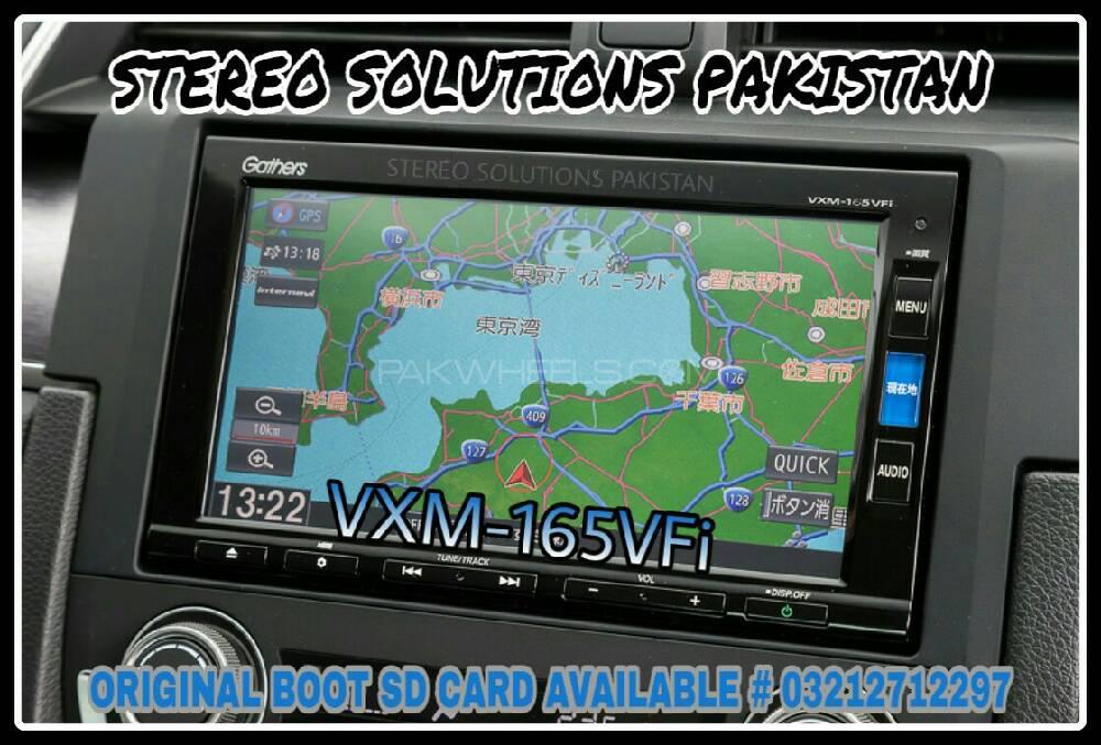 VXM-165VFI BOOT SD CARD AVAILABLE